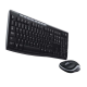Logitech Ensemble clavier-souris sans fil RF 2,4 GHz noir Cordless Desktop MK270