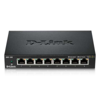 D-link Switch Gigabit Ethernet 8 ports boitier métal DGS-108