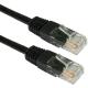 (generique) Câble réseau RJ45 droit 0,25 mètre CAT.6 S-FTP noir