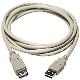 (generique) Rallonge USB 2.0 type A mâle vers type A femelle 1,80/2 mètres