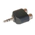 (generique) Adaptateur mini jack 3,5 mm mâle vers 2 x RCA femelle