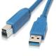 (generique) Câble USB 3.0 type A mâle vers type B mâle 1,80 mètre