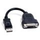 (generique) Adaptateur 10 cm DisplayPort Mâle vers DVI-D 24+1 Femelle