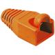 (generique) Lot de 10 manchons RJ45 orange diam. 6