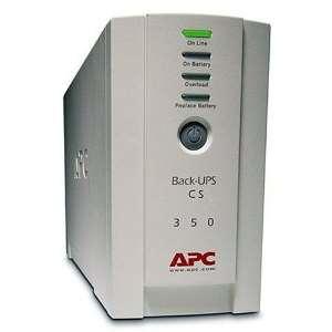 Apc Onduleur Back-UPS CS 350 VA 210 Watts avec 4 prises IEC dont 3 ondulées