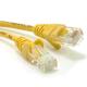 (generique) Câble réseau RJ45 droit 2 mètres CAT.6 S-FTP jaune