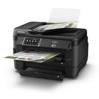 Epson Imprimante jet d'encre A3 multifonctions 4-en-1 WorkForce WF-7620DTWF fax