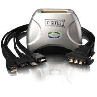 Digitus Commutateur KVM USB HDMI pour 2 PC DS-11900