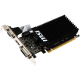 Msi GeForce GT 710 1 Go G-DDR3 64 bits PCIe 16x 2.0 low profile GT 710 1GD3H LP