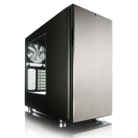 Fractal-design Boitier moyen-tour Define R5 Titanium Window 2x140 mm 4xUSB audio