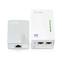 Tp-link Kit de 2 adaptateurs CPL 500 Mbps avec point d'accès WiFi 300 Mbps
