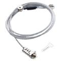 (generique) Câble anti-vol avec serrure à combinaison