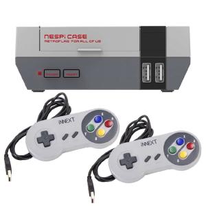Delixir NesPi 64 Go avec 10000 jeux, 2 manettes et câble HDMI