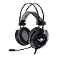 S.o.g Casque 7.1 USB Elite-H70 Black avec microphone et réglage du volume