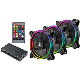 Enermax Pack de 3 ventilateurs UCTB RGB 120 mm 1500 RPM 22 dBA UCTBRGB12-BP3