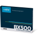 "Crucial Disque Flash SSD BX500 Slim 2""½ 480 Go SATA III CT480BX500SSD1"