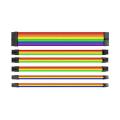 Thermaltake Kit de câbles d'extensions 30 cm Rainbow AC-049-CNONAN-A1