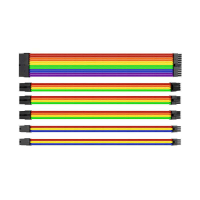 Thermaltake Kit de câbles d'extensions 30 cm Rainbow AC-049-CNONAN-A1