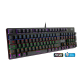 S.o.g Clavier mécanique filaire USB lumineux RGB Xpert-K300 avec anti-ghosting