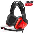 S.o.g Casque 7.1 USB Xpert-H100 Red Edition avec microphone et réglage du volume