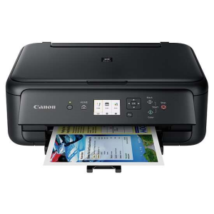 Canon Imprimante jet d'encre A4 multifonctions 3-en-1 PIXMA TS5150 R/V WiFi USB
