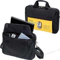 Dicota Sacoche nylon noir 15,6 avec souris USB D30805-V1