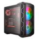Coolermaster Boitier moyen-tour MasterCase H500 ARGB 2x200 mm 2xUSB audio