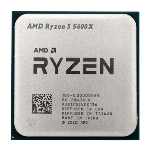 Amd Ryzen 5 5600X AM4 6 coeurs 12 threads 3,7 GHz 7 nm cache 35 Mo