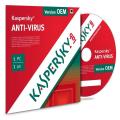 Kaspersky Antivirus licence OEM pour 1 poste et 1 an de service