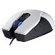Coolermaster Souris laser filaire blanche USB Recon 4000 dpi 9 boutons