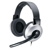 Genius Casque stéréo ajustable HS-05A avec microphone et réglage du volume