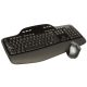Logitech Ensemble clavier-souris sans fil RF 2,4 GHz noir Wireless Desktop MK710