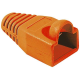 (generique) Lot de 10 manchons RJ45 orange diam. 6