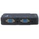Inter-tech Commutateur KVM USB VGA pour 4 PC avec audio et sélecteur CS-41UA