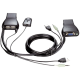 D-link Commutateur KVM USB VGA pour 2 PC avec audio et sélecteur DKVM-222
