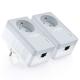 Tp-link Kit de 2 adaptateurs CPL retour 500 Mbps avec Fast Ethernet TL-PA4015PKI