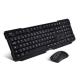 Advance Ensemble clavier-souris sans fil RF 2,4 GHz Starter Wireless Desktop