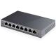 Tp-link Switch Gigabit Ethernet 8 ports dont 4 PoE boitier métal TL-SG108PE
