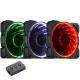 Jonsbo Pack de 3 ventilateurs FR-131 RGB 120 mm 1000 RPM 18 dBA