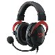 Kingston Casque stéréo HyperX Gaming Cloud II rouge avec microphone détachable