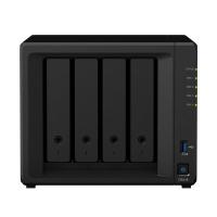Synology NAS DS418 4xHDD RAID CPU 2x1,4 GHz 2 Go DDR4 2xGBe LAN 2xUSB 3.0