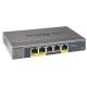 Netgear Switch Gigabit Ethernet L2 5 ports dont 2 PoE boitier métal