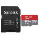 Sandisk Carte mémoire MicroSDHC 256 Go Classe 10 avec adap. SDSQUAR-256G-GN6MA