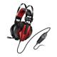 Genius Casque 7.1 USB HS-G710V avec vibration, microphone et réglage du volume