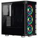 Corsair iCUE 465X RGB Noir 3x120 mm 2xUSB audio